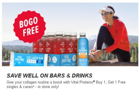 Vital Proteins Buy 1, Get 1 Free from GNC