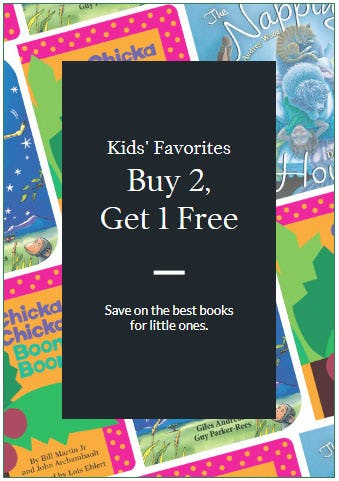 B2G1 Free Kids' Favorites