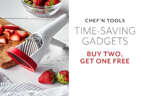 B2G1 Free on Chef' n Tools from Sur La Table