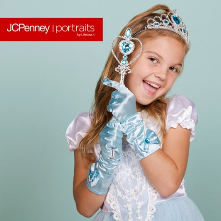 Princess Photography Event from JCPenney Portraits