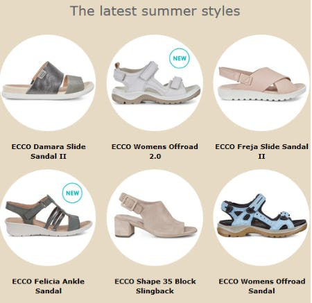 Meet Our Latest Summer Styles