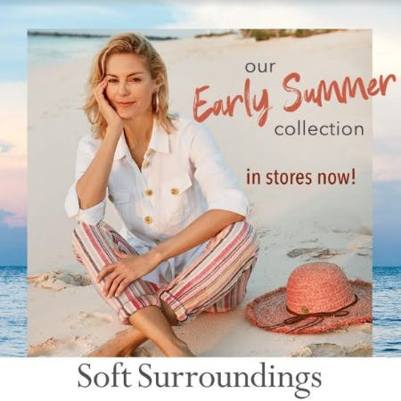 Soft Surroundings Early Summer Collection Now In Stores! from Soft Surroundings