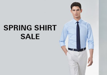 Spring Shirt Sale from Boss