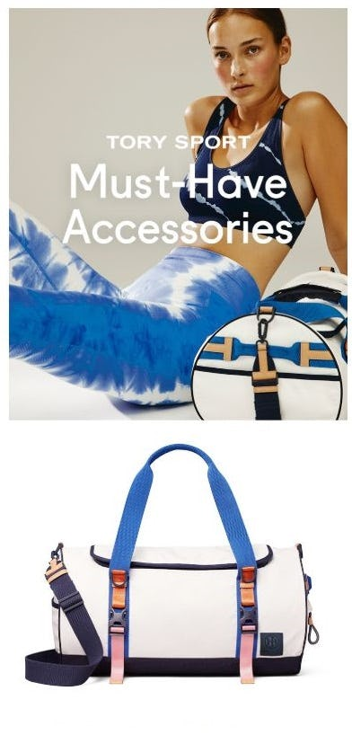 New from Tory Sport: Must-Have Accessories from Tory Burch