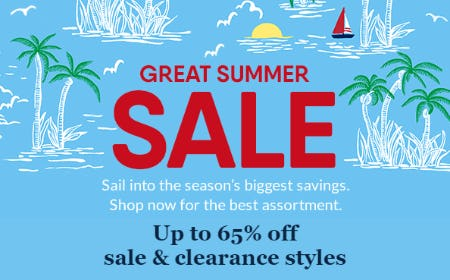 Great Summer Sale from Lands' End