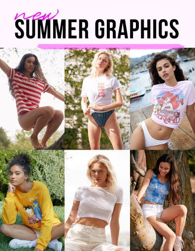 New Summer Graphics
