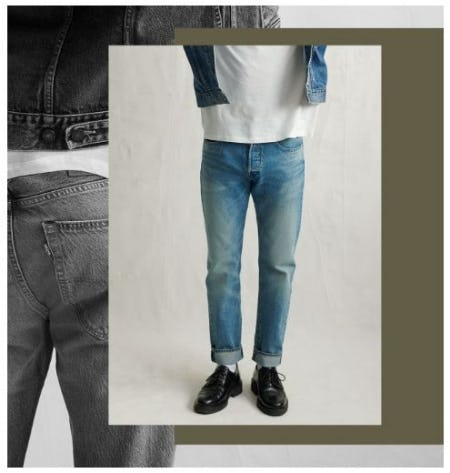Our Newest Fit: 501 Slim Taper from The Levi's Store