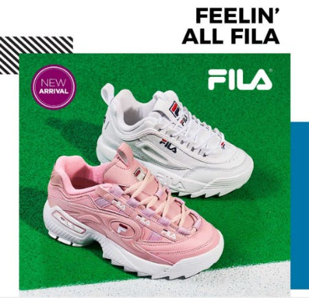 Catch Up With The Latest From Fila At Rack Room Shoes Four Seasons