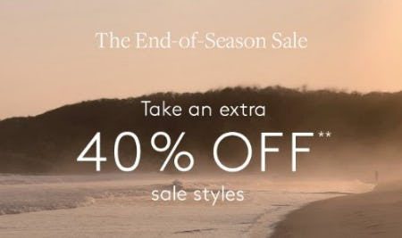 The End-of-Season Sale from Club Monaco