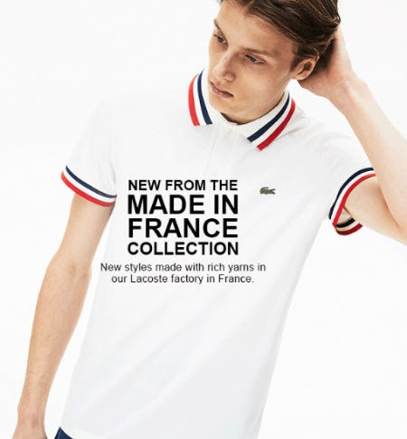 New Made in France Collection from Lacoste