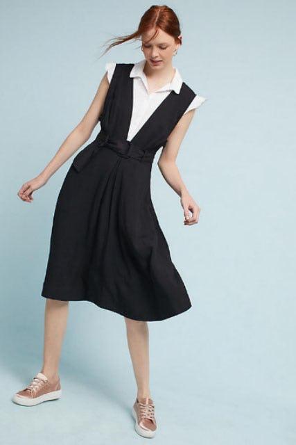 Bryony Apron Dress