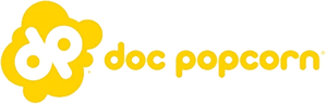 Dippin Dots Doc Popcorn Logo