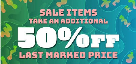 Take an Additional 50% Off Last Marked Price from Zumiez