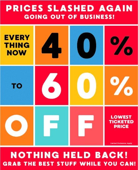 Everything Now 40% to 60% Off Lowest Ticketed Price from Gymboree