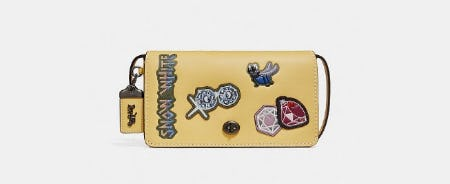 Disney X Coach Dinky With Patches from Coach