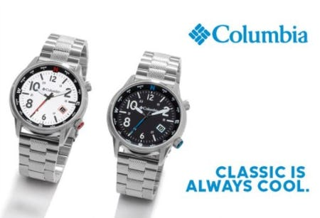 Introducing Columbia Watches from Fred Meyer Jewelers