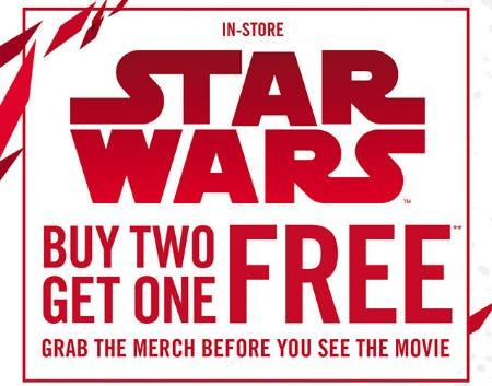 B2G1 Free Star Wars