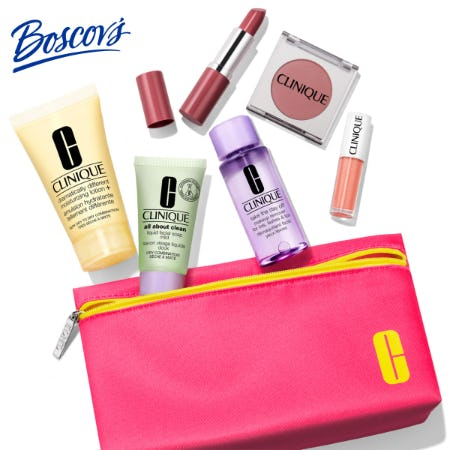 Clinique Gift with Purchase at Boscov's from Boscov's