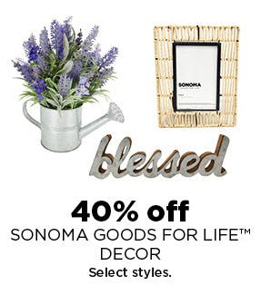 40% Off Sonoma Goods For Life Decor from Kohl's