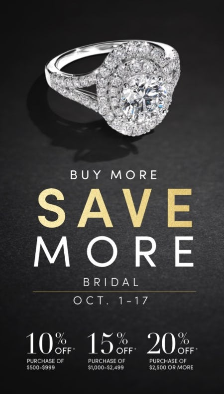 Buy More, Save More from Jared Galleria of Jewelry