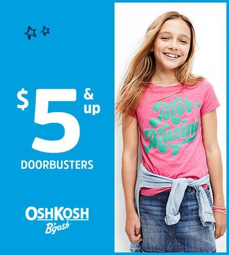$5 & Up Doorbusters