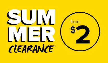 Summer Clearance from $2 from Rainbow
