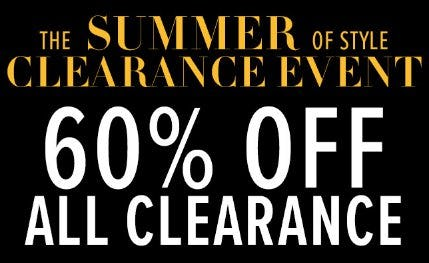 60% Off All Clearance from New York & Company