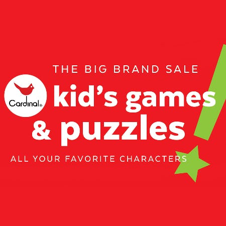 KIDS GAMES & PUZZLES SALE!