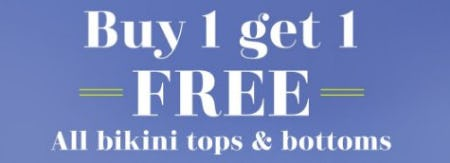 Buy 1, Get 1 Free All Bikini Tops & Bottoms from Aerie