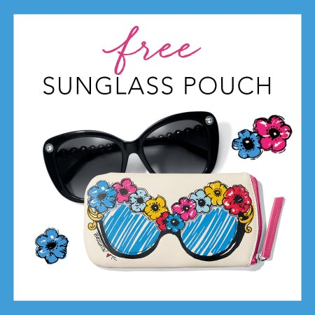 Our FREE Gift - Bright Eyes Sunglass Pouch from Brighton Collectibles
