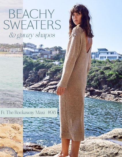 Beachy Sweaters & Gauzy Shapes from Free People