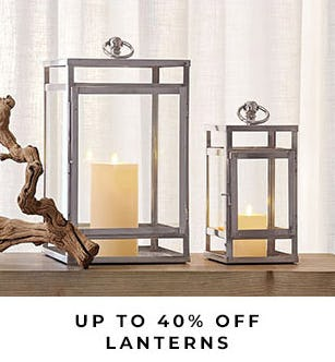 Up to 40% Off Lanterns from Pottery Barn