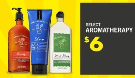 Select Aromatherapy $6