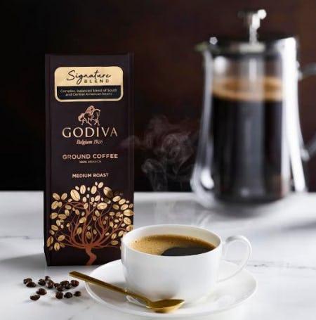 Celebrate International Coffee Day with GODIVA! from Godiva Chocolatier