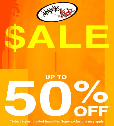 spring sale from Journeys Kidz