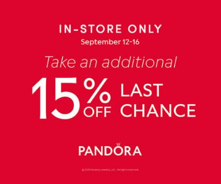 Additional 15% Off Last Chance from Jared Galleria Of Jewelry