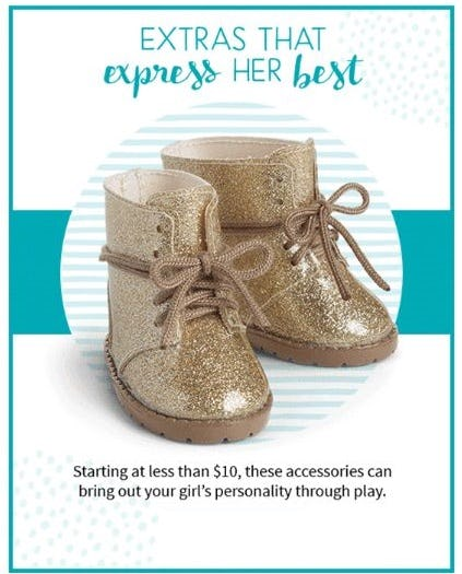 One-of-a-Kind Accessories from American Girl