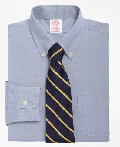Madison Classic-Fit Dress Shirt, Non-Iron Button-Down Collar from Brooks Brothers
