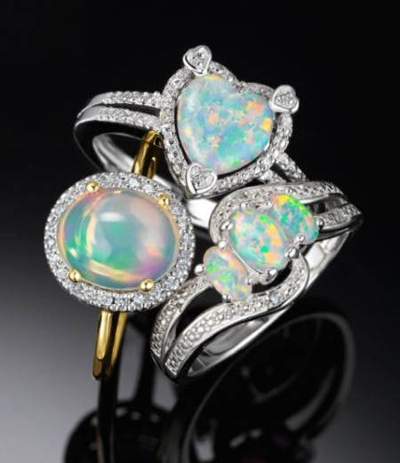 Explore The Effervescence of Opal from Littman Jewelers