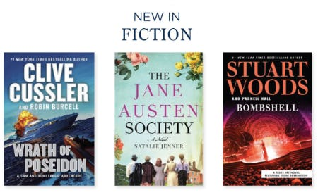 New in Fiction from Books-A-Million