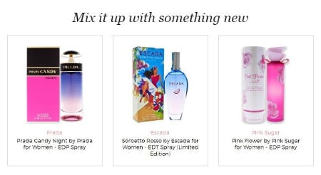 Check Out Our Latest Obsessions from Perfumania