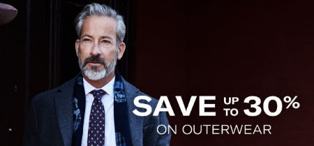 Up to 30% Off Outerwear from Allen Edmonds