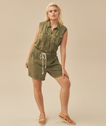CASLON Utility Romper from Nordstrom