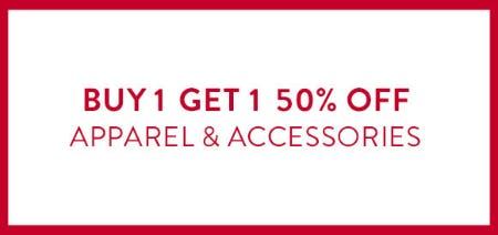 BOGO 50% Off on Apparel & Accessories from Catherines Plus Sizes
