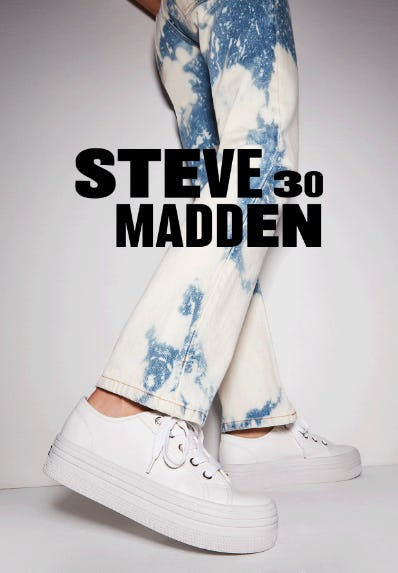 The 30th Anniversary Collection from Steve Madden