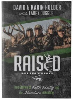 Raised Hunting Book from Books-A-Million