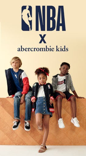 It's Back: New NBA Collab Just Dropped from Abercrombie Kids