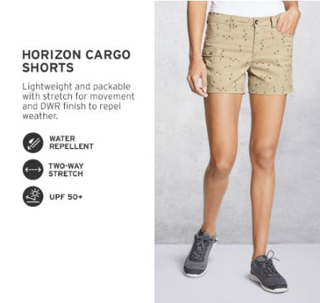 The Horizon Cargo Shorts from Eddie Bauer