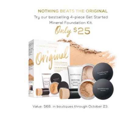 Mineral Foundation Kit Only $25