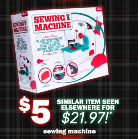 $5 Sewing Machine